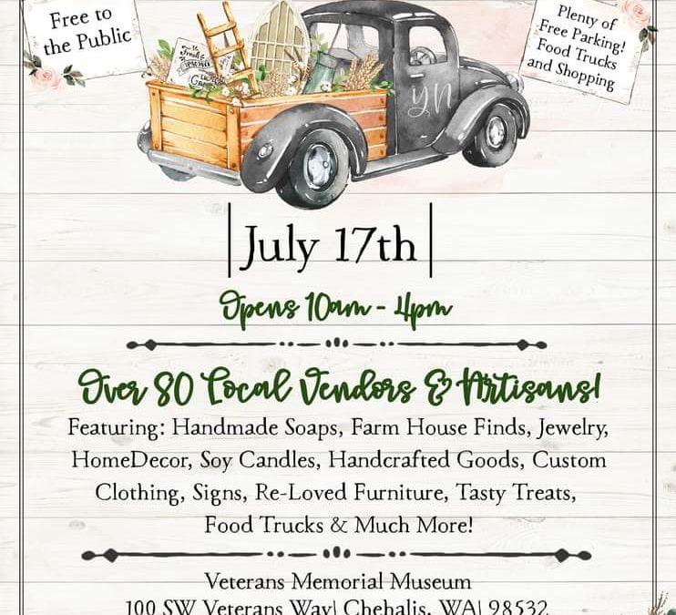 Summer Vendor Blender Craft Fair
