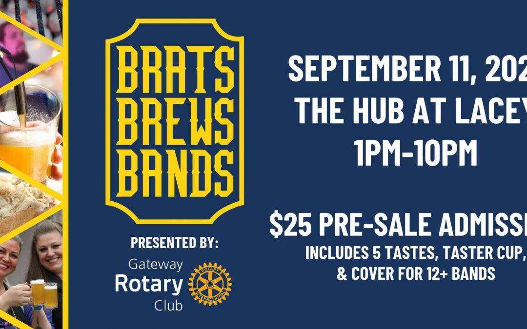 Brats, Brews, and Bands Festival